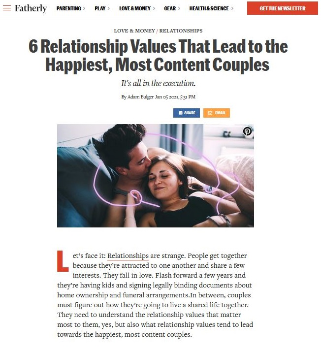 relationship values