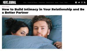 build intimacy
